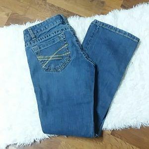 Aeropostale  Chelsea Skinny Bootcut Jeans